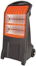 mobile infra-red heater