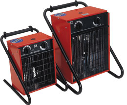 three phase electric air heaters